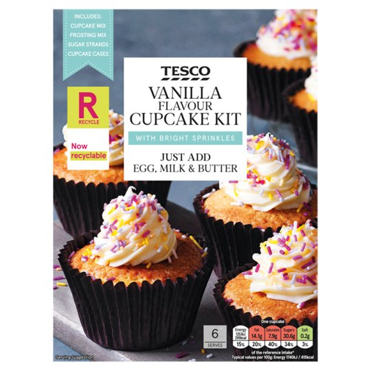 Tesco Halloween Cake Decoration : RECIPE: HALLOWEEN CUPCAKES VIPXO