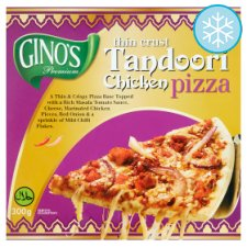 Ginos Halal Tandoori Chicken Pizza 300G