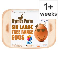 Rymer Farm Eggs Large Free Range 6 Eggs