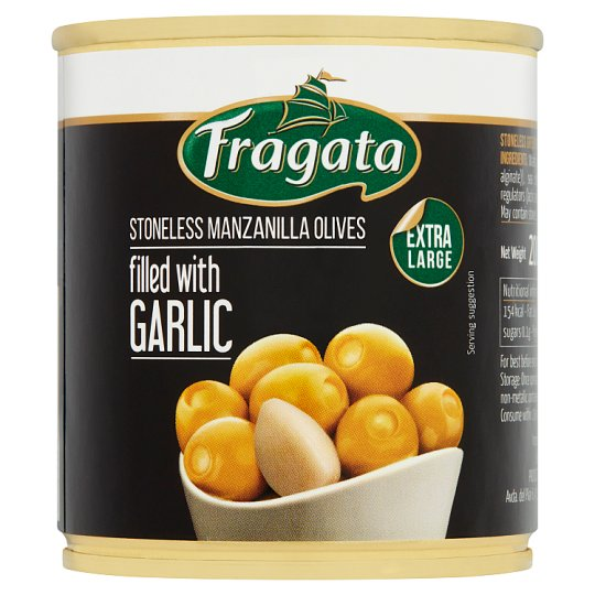 Fragata Olives Stuffed With Garlic 200G