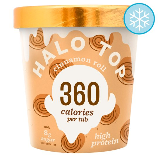 Halo Top Cinnamon Roll Ice Cream 473Ml