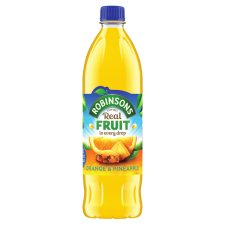 Robinsons Orange & Pineapple No Added Sugar 1L