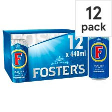 Fosters Lager 12X440ml