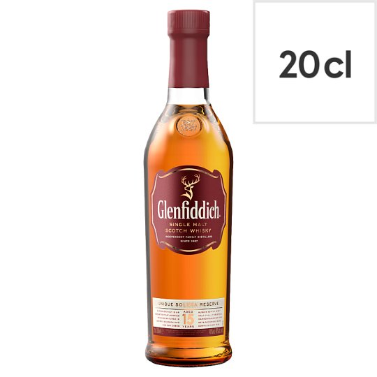 Glenfiddich Single Malt 15 Years Old 20Cl
