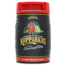 Kopparkeg Strawberry And Lime Cider 5L