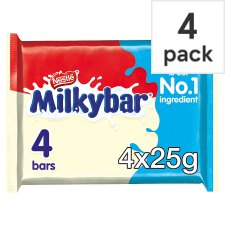image 1 of Milkybar White Chocolate Multipack 4 X25g