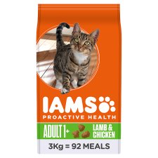 Iams Lamb And Chicken Dry Cat Food 3Kg