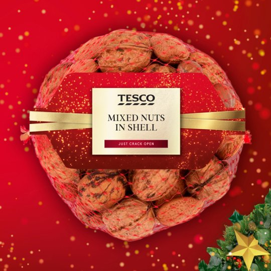 Tesco Mixed Nuts In Shell 350G