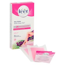 Veet Ready To Use Wax Strips Normal 20'S