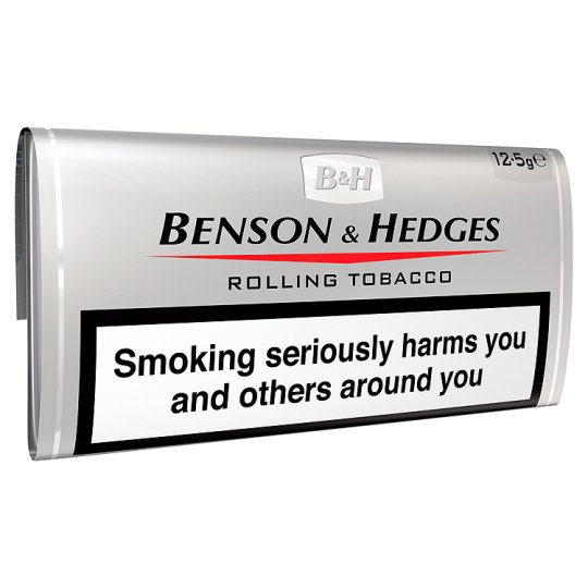 Benson And Hedges Silver Roll Your Own 12.5G