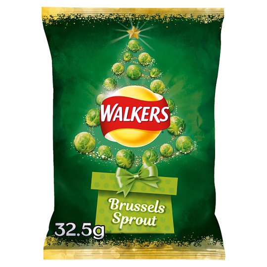Walkers Brussel Sprouts Crisps 32.5G