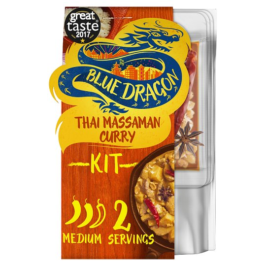 Blue Dragon 3 Step Thai Curry Massaman 273G