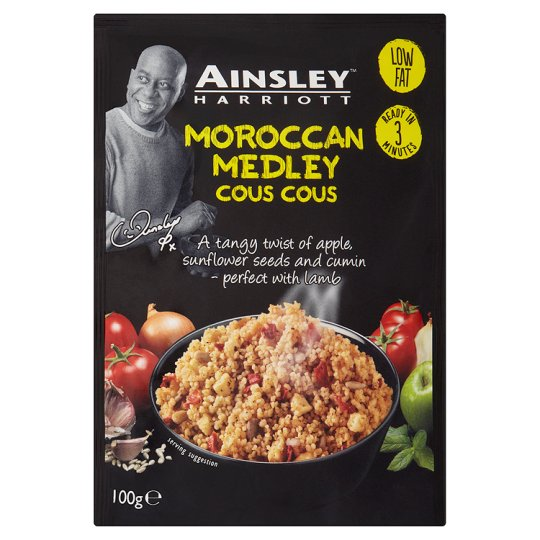 Ainsley Harriott Moroccan Medley Cous Cous 100G