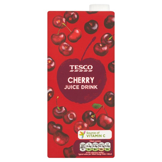 Tesco Cherry Juice Drink 1 Litre