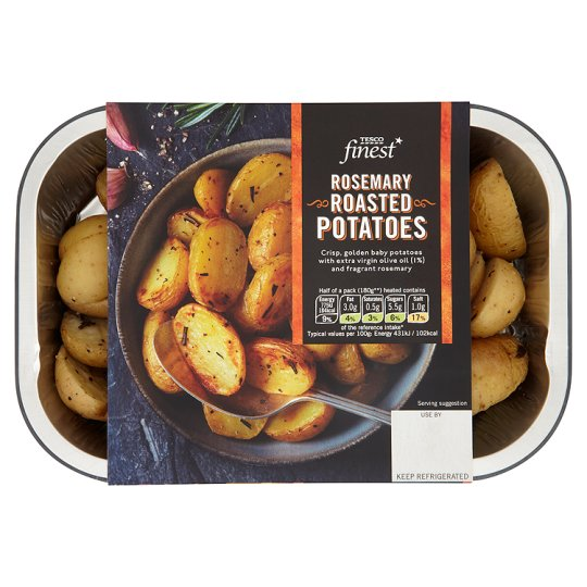 Tesco Finest Rosemary Roasted Potatoes 380G