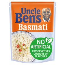 Uncle Bens Microwave Basmati Rice 250G