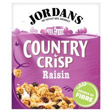 Jordans Country Crisp Flame Rais Cereal 500G