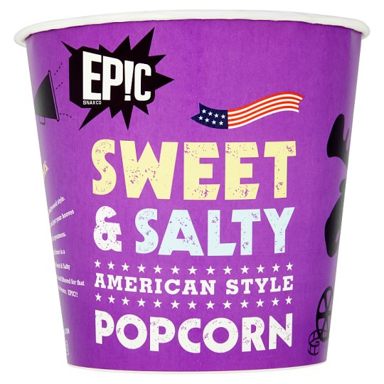 Epic Popcorn Sweet And Salty 150G