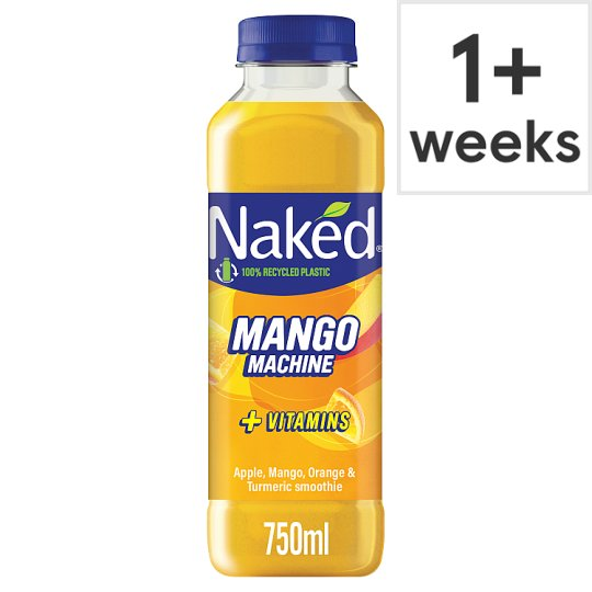 image 1 of Naked Mango Juice Smoothie 750Ml