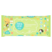 Fred & Flo 60 Biodegradable Fragranced Wipes