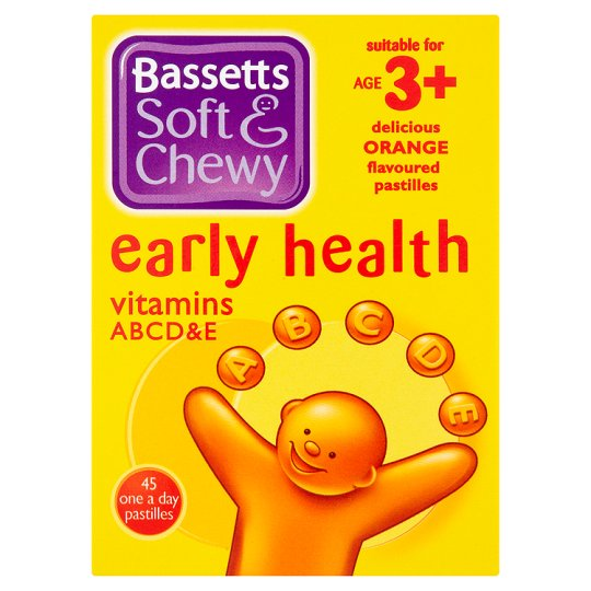 Bassetts Early Health Orange 45S