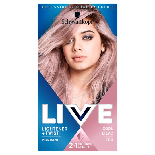 Live Colour Lightener Twist 104 Cool Lilac