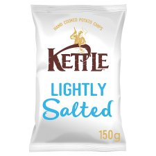 Kettle Chips Lightly Salted Crisps 150 G
