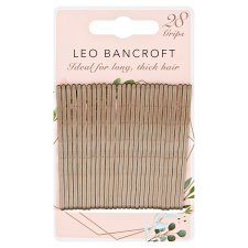 Leo Bancroft Large Hair Grips Blonde 28Pk