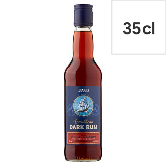 Tesco Dark Rum 35Cl
