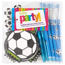 Tesco Football Stationery Bumper Pack