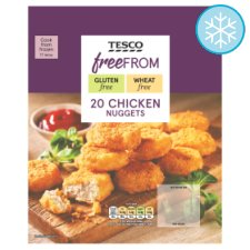 Tesco Free From 20 Chicken Nuggets 400G