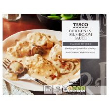 Tesco Classic Kitchen Chicken And Mushroom Sauce 400G