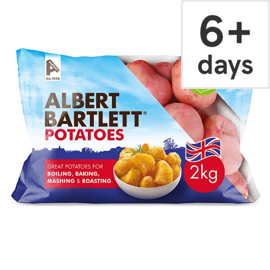 A Bartlett Rooster Potatoes 2Kg Pack