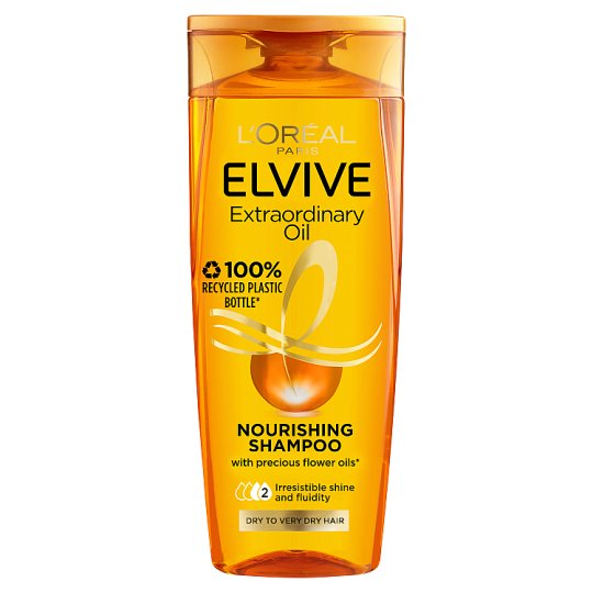image 1 of L'oreal Elvive Extraordinary Oil Dry Hair Shampoo 300Ml