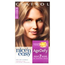 Nice 'N Easy Age Defying Permanent Medium Ash Blonde 8A Hair Dye
