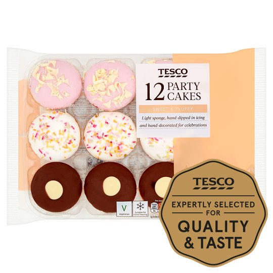 Tesco 12 Assorted Party Selection