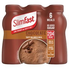 Slimfast Chunky Chocolate Shakes 6X325ml