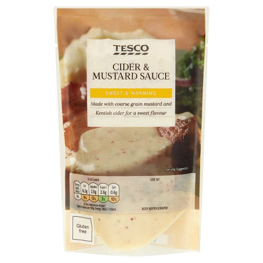 Tesco Cider And Mustard Sauce 180G