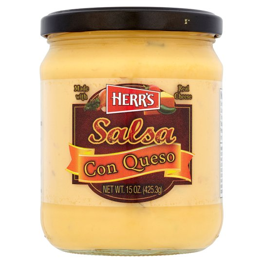 Herrs Salsa Con Queso With Real Cheese 425.3G