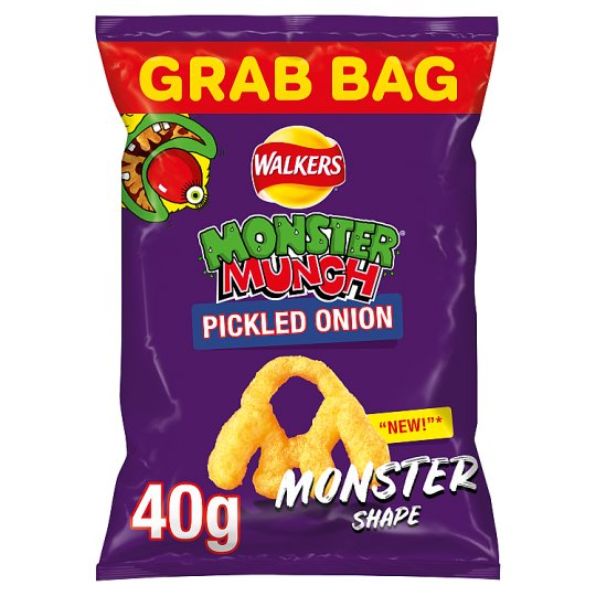 Walkers Monster Munch Mega Pickled Onion 40G