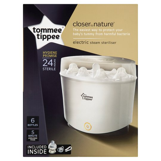 Tommee Tippee Closer To Nature Electronic Steam Steriliser