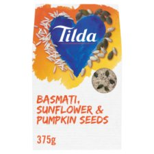 Tilda Basmati Rice Pumpkin And Sunflower Seeds375g