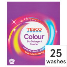 Tesco Colour Laundry Powder 25 Wash 1.625 Kilograms