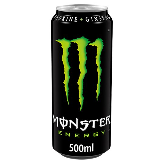 monster energy 500ml can groceries tesco groceries