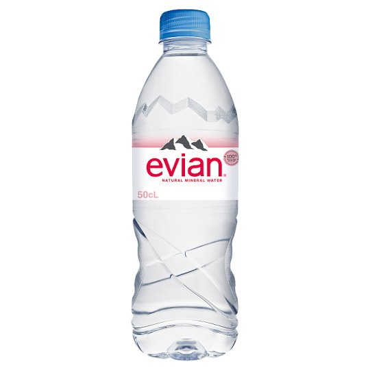 Evian Natural Mineral Water 500 Ml