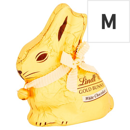 Lindt Gold Bunny White Chocolate 100G