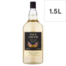 Tesco Pale Cream Fortified British Wine 1.5Ltr