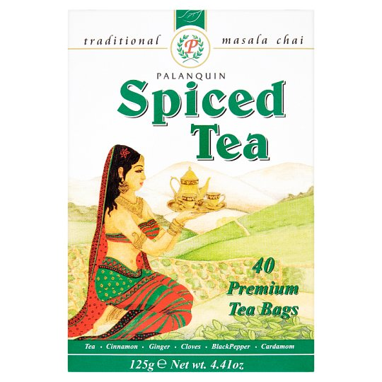 Palanquin Spiced Tea Bags 40S 125G