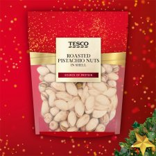 Tesco Roasted Pistachio Nuts In Shell 200G