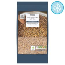 Tesco Dark Speckled Lentils 400G